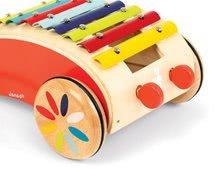 Ťahacie hračky - Drevený vozík s xylofónom Red Tatoo Janod na ťahanie od 18 mes_1