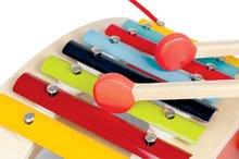 Ťahacie hračky - Drevený vozík s xylofónom Red Tatoo Janod na ťahanie od 18 mes_2