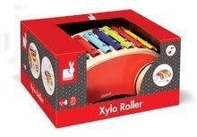 Ťahacie hračky - Drevený vozík s xylofónom Red Tatoo Janod na ťahanie od 18 mes_4