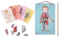 Magnetická anatómia Bodymagnet Janod od 7 rokov