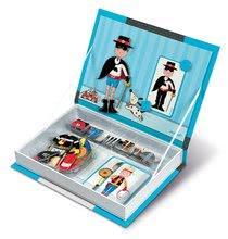 Magnetická kniha Boy 's Outfits Magneti'Book Janod a 8 karet