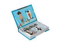 Magnetky pre deti - Magnetická kniha Boy's Outfits Magneti'Book Janod 8 kariet_0