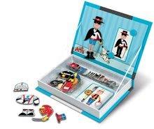 Magnetky pre deti - Magnetická kniha Boy's Outfits Magneti'Book Janod 8 kariet_1
