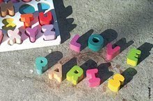 Puzzle pre najmenších - Drevená vkladačka Abeceda I Wood Janod puzzle_2