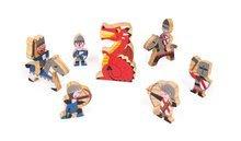 Detské puzzle do 100 dielov - Stavebnica Hrad Čierneho rytiera Cardboard puzzle Janod s 9 doplnkami od 4 rokov_2