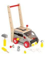 Drevený pracovný vozík Redmaster Bricolo Janod magnetický s 24 doplnkami