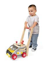 Pracovná detská dielňa - Drevený pracovný vozík Redmaster Bricolo Janod magnetický s 24 doplnkami_0
