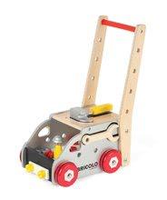 Pracovná detská dielňa - Drevený pracovný vozík Redmaster Bricolo Janod magnetický s 24 doplnkami_2