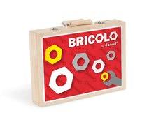 Pracovná detská dielňa - Drevený pracovný kufrík Redmaster Bricolo Janod s náradím 9 ks_1
