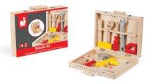 Pracovná detská dielňa - Drevený pracovný kufrík Redmaster Bricolo Janod s náradím 9 ks_3
