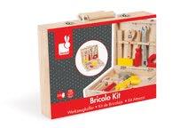Pracovná detská dielňa - Drevený pracovný kufrík Redmaster Bricolo Janod s náradím 9 ks_4