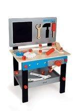 Dřevěný pracovní stůl Bluemaster DIY Janod magnetický s 24 doplňky