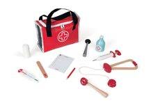 Drevený lekársky kufrík pre deti Doctor Janod s 10 doplnkami od 3-8 rokov