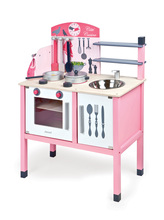 Janod drevená kuchynka Mademoiselle Maxi Cooker 06533 ružová