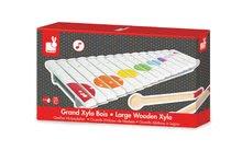 Detské hudobné nástroje - Veľký drevený xylofón Confetti Large Xylo Janod od 24 mes_0