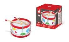 Detské hudobné nástroje - Drevený bubon Confetti Drum Janod od 24 mes_0