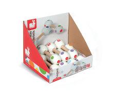 Detské hudobné nástroje - Drevené rumbagule Confetti Maracas Barbell Janod _0