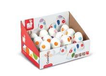 Detské hudobné nástroje - Drevené hrkajúce vajíčko Confetti Shaking Egg Janod od 12 mes_1