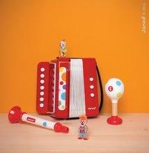 Detské hudobné nástroje - Drevené rumbagule Confetti Maracas Janod od 12 mes_2