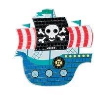 Ručné práce a tvorenie - Omaľovánky Ateliér Janod Ostrov Pirátov s mozaikou od 4 rokov_2