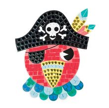 Ručné práce a tvorenie - Omaľovánky Ateliér Janod Ostrov Pirátov s mozaikou od 4 rokov_3