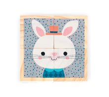 Rozprávkové kocky - Drevené kocky Lesné zvieratká Baby Forest Janod rozprávkové 4 ks od 12 mes_3