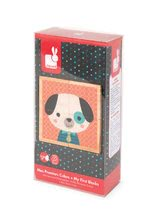 Rozprávkové kocky - Drevené kocky Lesné zvieratká Baby Forest Janod rozprávkové 4 ks od 12 mes_8