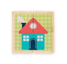 Rozprávkové kocky - Drevené kocky Prvé slová Baby Forest Janod rozprávkové 4 ks od 12 mes_4