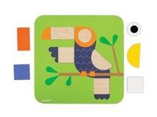 Puzzle pre najmenších - Drevená vkladačka Učíme sa tvary Janod 29 ks od 24 mes_6