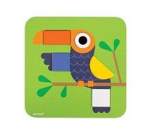 Puzzle pre najmenších - Drevená vkladačka Učíme sa tvary Janod 29 ks od 24 mes_7