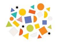 Puzzle pre najmenších - Drevená vkladačka Učíme sa tvary Janod 29 ks od 24 mes_12