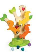 Vývoj motoriky - Drevený strom Janod s veveričkami a zvukom od 12 mes_2