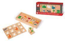 Pexeso - Drevené pexeso Barnyard Memory Game Janod 40 dielov od 24 mes_4
