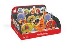 Ťahacie hračky - Drevená sliepočka Janod na ťahanie s labyrintom od 12 mes_3
