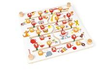 Cudzojazyčné spoločenské hry - Spoločenská hra Labyrinth Alphabet Game Janod angličtina-francúzština od 4 rokov_1