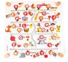 Cudzojazyčné spoločenské hry - Spoločenská hra Labyrinth Alphabet Game Janod angličtina-francúzština od 4 rokov_2