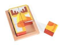 Rozprávkové kocky - Drevené kocky Lesné zvieratká Zigolos Janod v krabičke 6 kusov_3