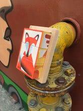Rozprávkové kocky - Drevené kocky Lesné zvieratká Zigolos Janod v krabičke 6 kusov_7