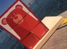 Rozprávkové kocky - Drevené kocky Lesné zvieratká Zigolos Janod v krabičke 6 kusov_9