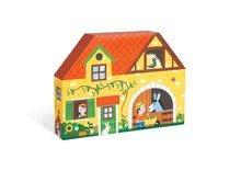 Garáže - Drevená stavebnica Farma Story Set Box Janod so zvieratkami 23 dielov_1