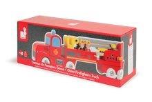 Nákladné autá - Drevené hasičské auto Story Set Janod so 4 figúrkami od 24 mes_1