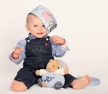 Hračky pre bábätká - Plyšový zajačik Blue Denim - Sweet Heart Kaloo 18 cm v darčekovom balení pre najmenších modrý_1