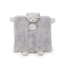 Plyšová loutka - medvídek Perle Doudou Kaloo 20 cm v dárkové krabičce šedá