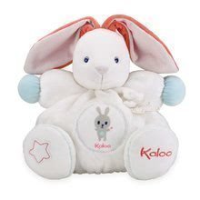 Plüss nyuszi Imagine Chubby Kaloo világító csörgővel ajándékdobozban 30 cm fehér
