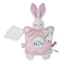 Kaloo plyšová bábka – zajačik na maznanie Imagine Doudou 960286 ružový