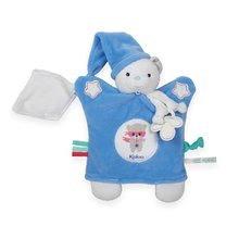 Kaloo plyšová bábka – medveď na maznanie Imagine Doudou svetielkujúci 960287 modrý