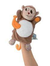 Bábky pre najmenších - Plyšová opička bábkové divadlo Nopnop-Banana Monkey Doudou Kaloo 25 cm pre najmenších_0
