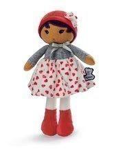 Bábika pre bábätká Jade K Tendresse Kaloo 25 cm v srdiečkových šatách z jemného textilu v darčekovom balení od 0 me