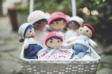Hadrové panenky - Panenka pro miminka Manon K Tendresse Kaloo 32 cm v hvězdičkových šatech z jemného textilu v dárkovém balení od 0 měsíců_2