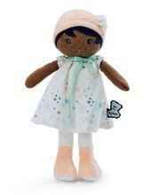 Bábika pre bábätká Manon K Tendresse Kaloo 32 cm v hviezdičkových šatách z jemného textilu v darčekovom balení od 0 me